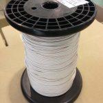 Natural silk served litz wire
