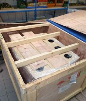 Fumigated wooden packing for Litz Wire