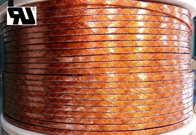litz wire, kapton tape, rectangular type