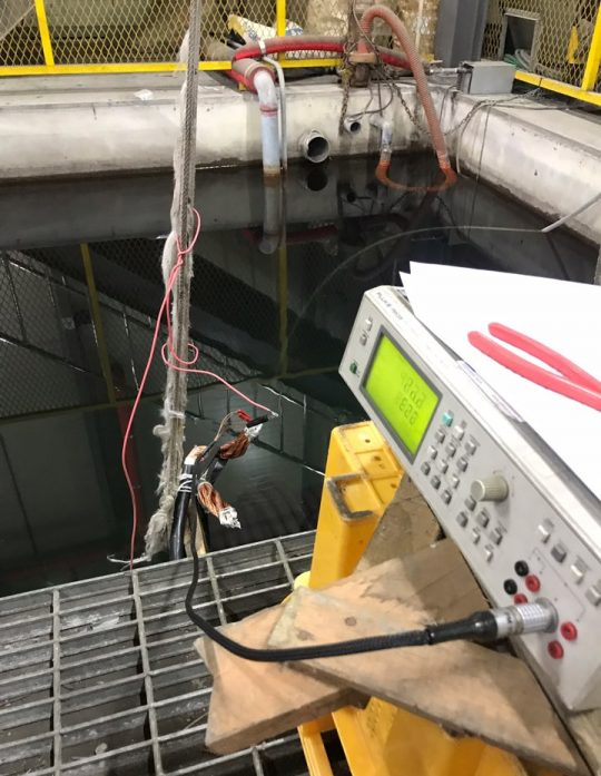 Litz Cable capacitance measuring in underwater